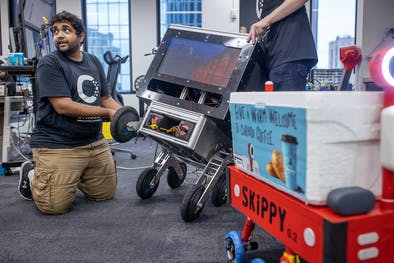 St. Paul company's robot delivers to-go orders and groceries